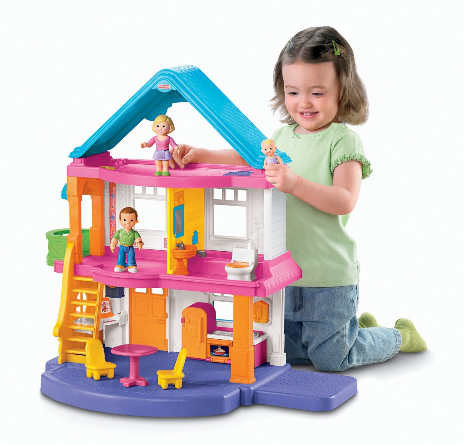 Fisher price my first dollhouse review for Baby and kids first furniture