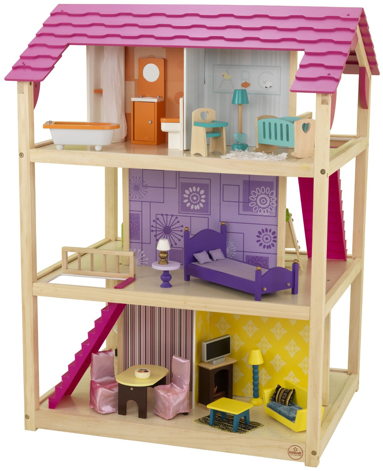KidKraft So hic Dollhouse eview - Modern, Spacious & Fun! - ^