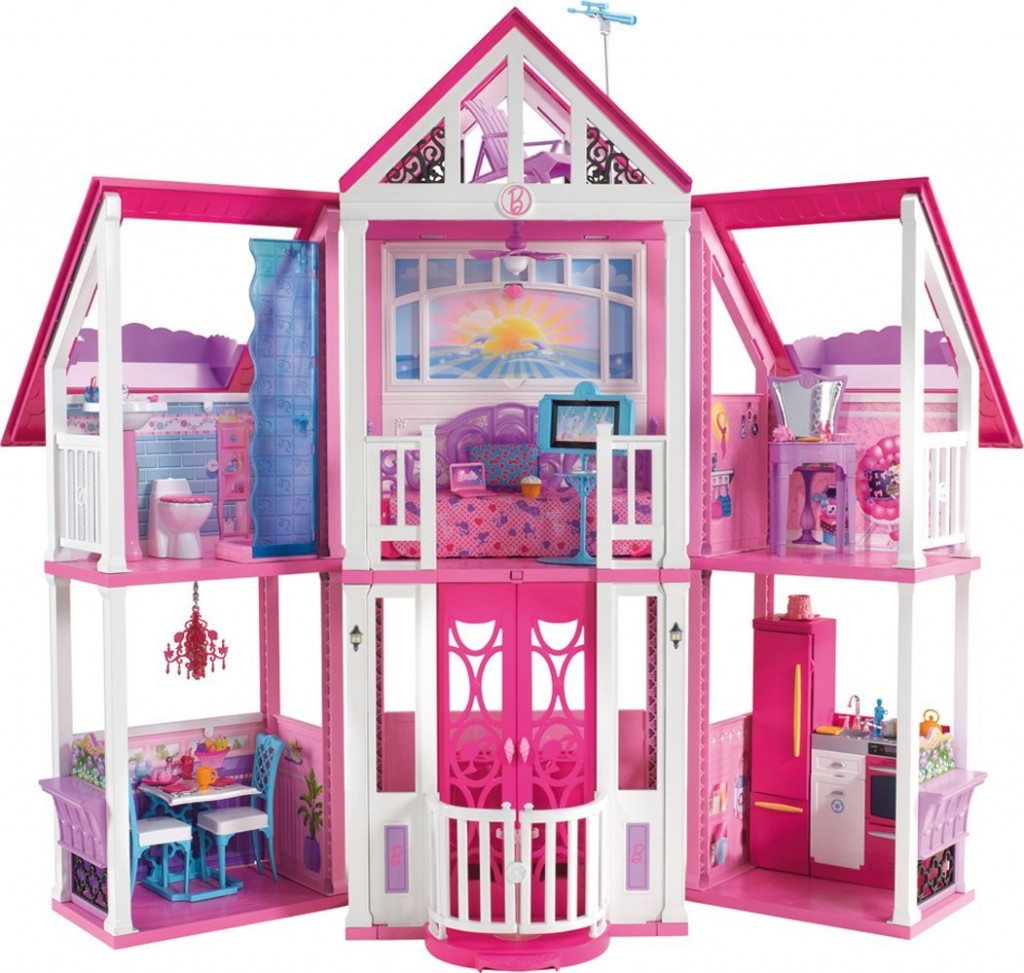Full House Floor Plan Barbie Malibu Dreamhouse The Perfect Barbie Dollhouse
