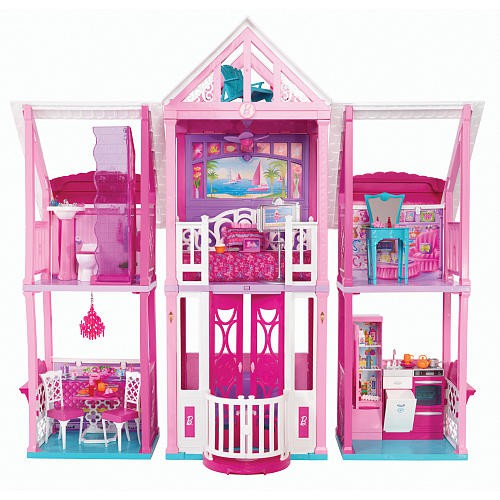 Barbie 3 Story Dream House Price