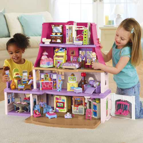 Loving Family Dollhouse African American