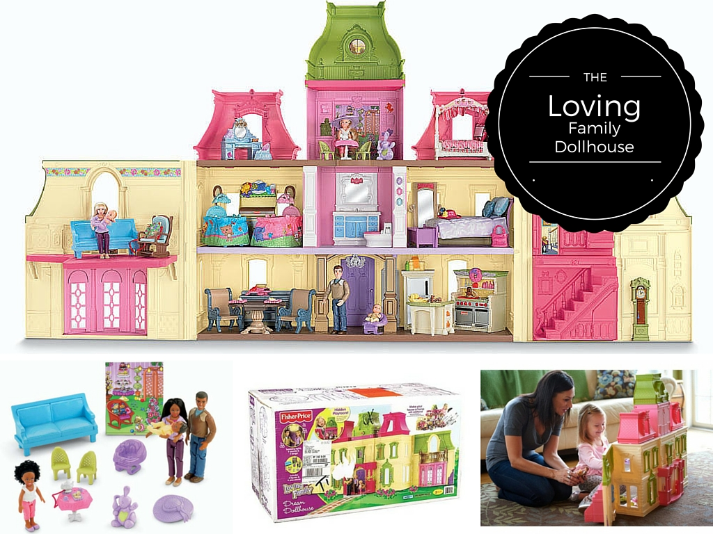 High Quality Fisher Price Loving Family Dream Dollhouse ...