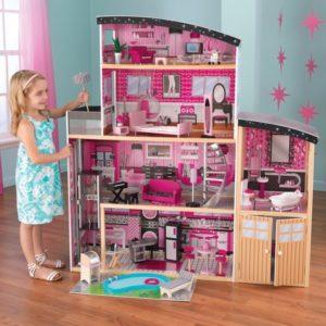 sparkle mansion - kidkraft dolls house