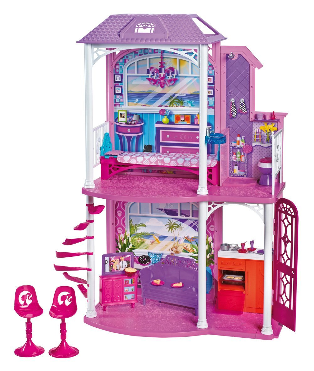 Barbie two story beach house