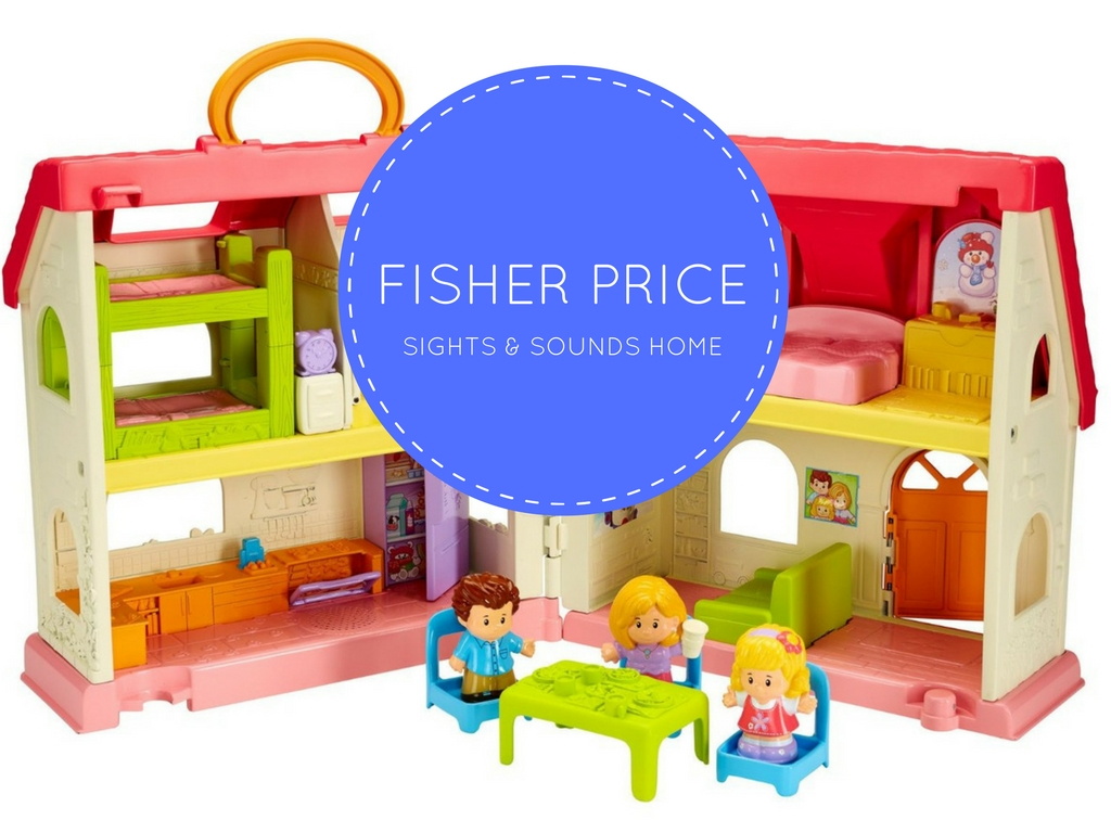 best toddler dollhouse fisher price little people surprise sounds home. Black Bedroom Furniture Sets. Home Design Ideas