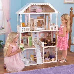 Savannah Dollhouse - wooden dollhouse reviews