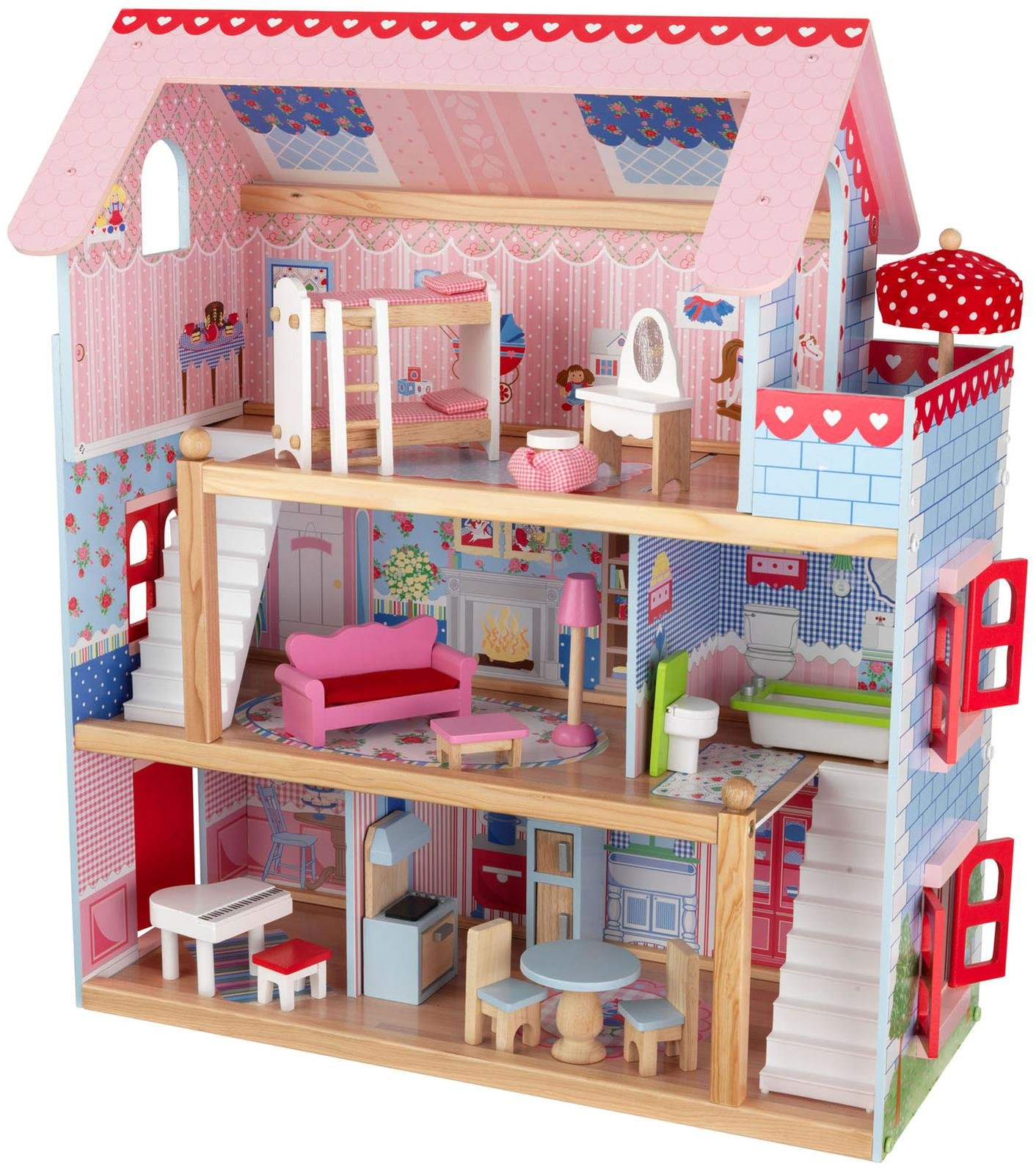 Best Wooden Dollhouse Hape All Season Review