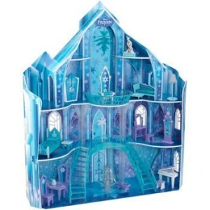 KidKraft Disney Frozen Snowflake Mansion Dollhouse