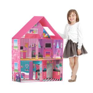 calego dollhouse and a girl