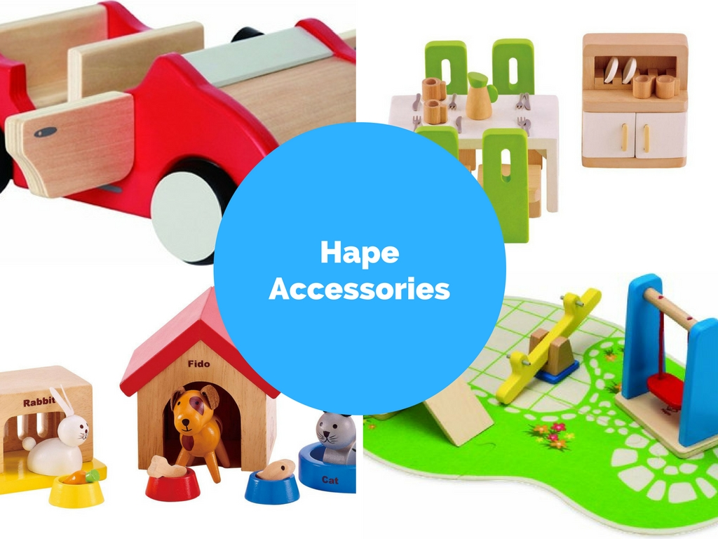 Hape Family Pets And Other Must Have Hape Dollhouse Accessories