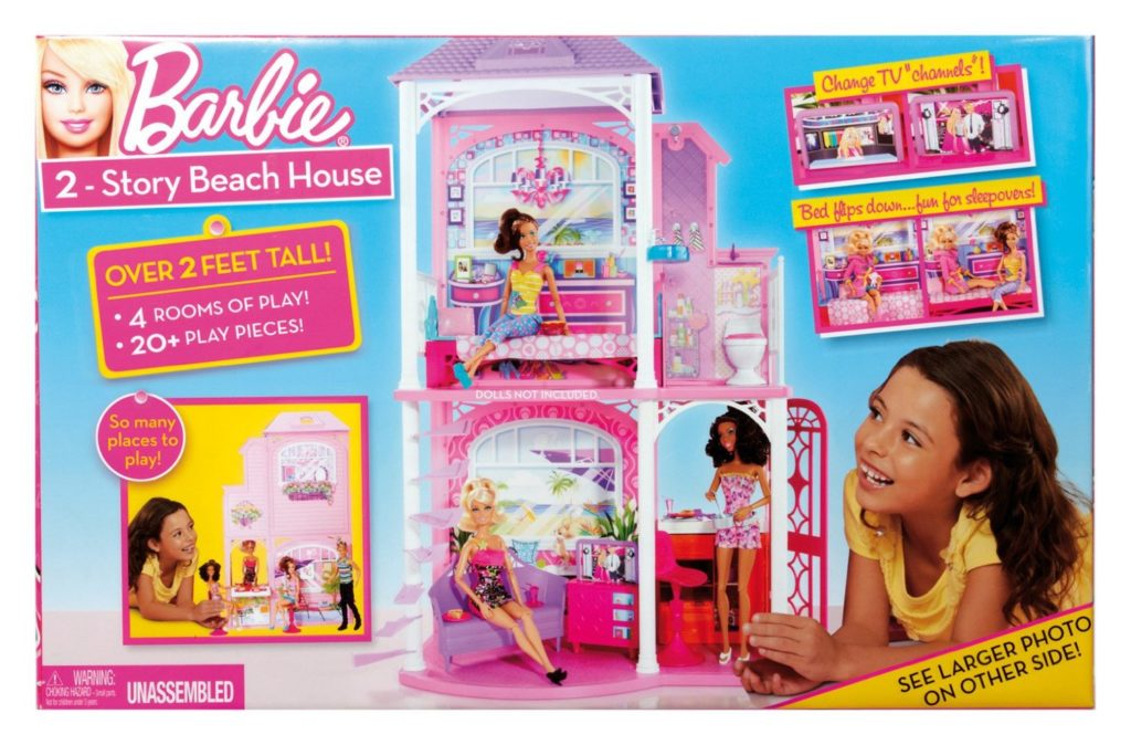 barbie doll beach house